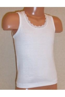 Apatiniai medvilniniai marškinėliai  mergaitėms (OTS3238_2)
