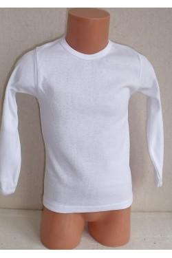 Balti marškinėliai ilgom rankovėm (Axim_38)