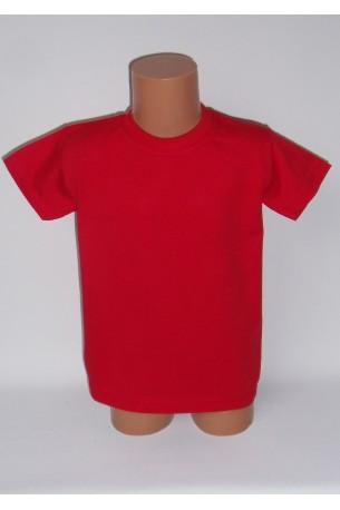 Vaikiški raudoni marškinėliai (SAZE_37)