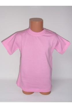 Vaikiški šviesiai rožiniai marškinėliai (SAZE)