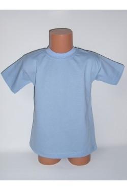 Vaikiški šviesiai mėlyni marškinėliai (SAZE)