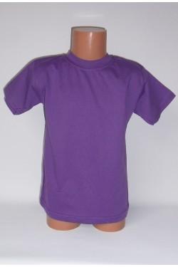 Vaikiški violetiniai marškinėliai (SAZE)