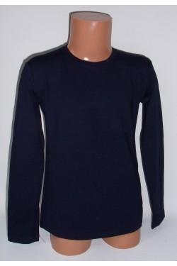 Tamsiai mėlyni marškinėliai ilgomis rankovėmis (ECE701)