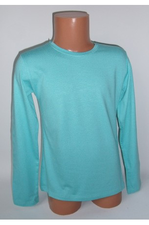 Žydri marškinėliai ilgomis rankovėmis (ECE701)
