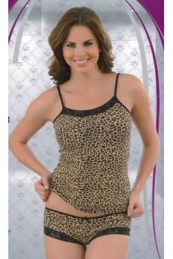 Pižama leopardiniais raštais (C1453)