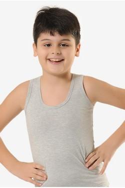 Vienspalviai medvilniniai marškinėliai berniukams (OTS1211R_3)