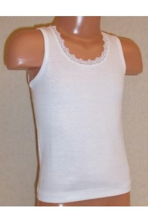 Marškinėliai  su nėrinukais (OTS3238)
