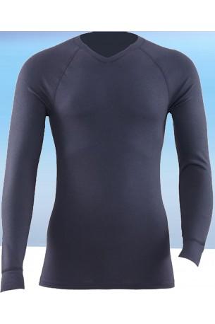 Termo marškinėliai su V iškirptės kaklu (ST104)
