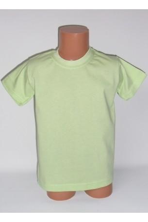 Vaikiški salotinės spalvos marškinėliai (SAZE_33)