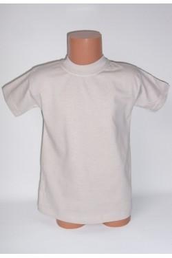 Vaikiški šviesiai pilki marškinėliai (SAZE)