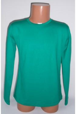 Žali marškinėliai ilgomis rankovėmis (ECE701)