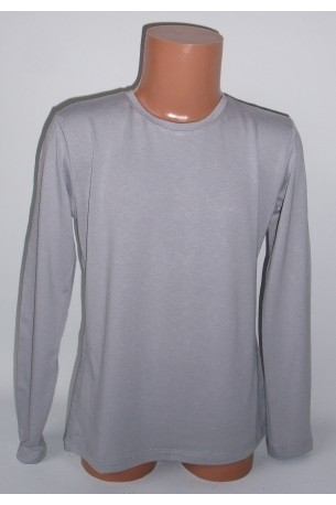 Pilki marškinėliai ilgomis rankovėmis (ECE701)