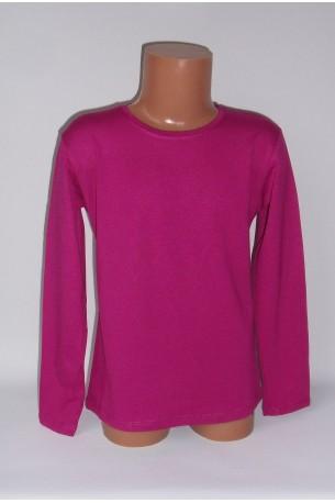 Rožiniai marškinėliai ilgomis rankovėmis (ECE701)
