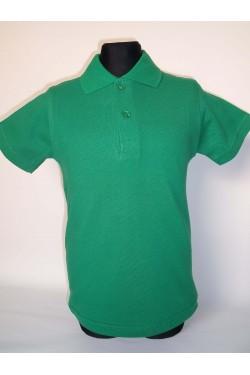 Polo marškinėliai trumpomis rankovėmis (Spalva: žalia)