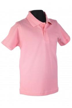 Polo marškinėliai trumpomis rankovėmis (Spalva: rožinė)