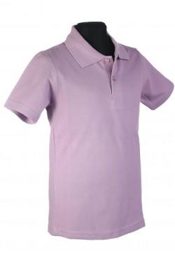 Polo marškinėliai trumpomis rankovėmis (Spalva: alyvinė)