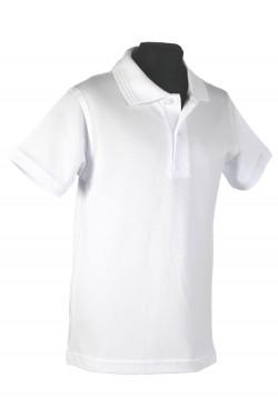 Polo marškinėliai trumpomis rankovėmis (Spalva: balta)