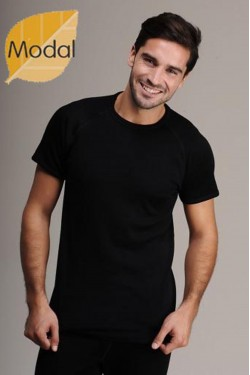 Modalinio pluošto marškinėliai  (DRM474_25)