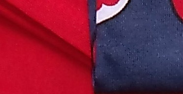 Raudona/ mėlyna